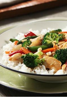 Easy Chicken Stir-Fry Skillet – This flavorful dinnertime recipe contains bold Asian-inspired flavor. Get creative by incorporating fresh veggies and unique spices.
