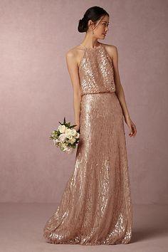Sequined Alana Dress