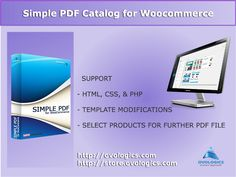 #Simple #PDF #Catalog #extension for #WooCommerce is an intuitive and powerful tool for generating PDF #document based on products user has selected. Generated PDF catalog could contain #products, #images, #prices, #titles and other #metadata loaded from your store. #ovologics #ecommerce #store #StoreManager