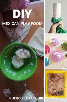 Do It Yourself Mexican Play Food