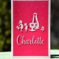 Geboortekaartje Charlotte - Letterpers.nl