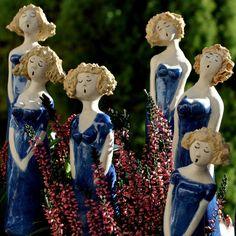 Swinging Ladies aus Keramik