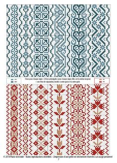Cross Stitch Borders, Cross Stitching, Cross Stitch Embroidery, Hand Embroidery, Cross Stitch Patterns, Embroidery Designs, Motif Fair Isle, Bordado Popular, Loom Bracelet Patterns