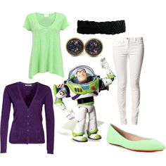 """""""Buzz Lightyear Toy Story"""" by jboothyy on Polyvore"""