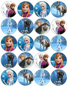 Bubakids Frozen connect the dot pages and color by numbers pages for kids. Disney Frozen Cupcakes, Frozen Cupcake Toppers, Disney Frozen Elsa, Frozen Cake, Frozen Frozen, Bolo Frozen, Frozen Themed Birthday Party, Elsa Birthday, Frozen Party