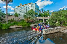 Conveniently located on Museum Reach of the San Antonio Riverwalk, El Tropicano is an ideal location for you stay at while visiting San Antonio.  www.eltropicanohotel.com