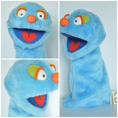 Awesome Hand Muppet Handmade Muppet-Style Muppet by AlezGustawie