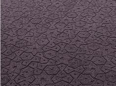 Tappeto a tinta unita in lana a motivi geometrici ASTER - Paola Lenti
