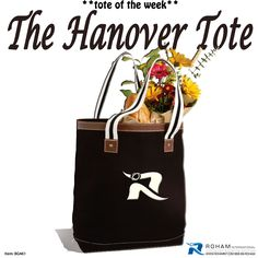 #ToteoftheWeek– The Hanover Tote Bag!  Contact us today for details at 888-99-ROHAM  #RohamInt #PromotionalProducts #TradeshowPromotionalProducts #PromotionalToteBag