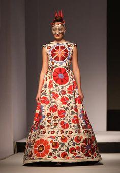 Kazakhstan fashion week: Aya Bapani