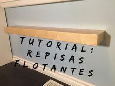 (1159) Tutorial: Como hacer Repisas flotantes - YouTube