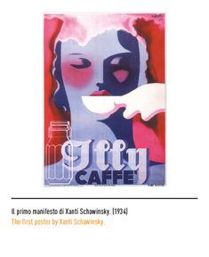 Marchio Illy - Il primo manifesto di Xanti Schawinsky 1934