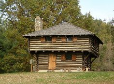 The Fort Ouiatenon Blockhouse is a replica of the original early French trading post known as the Fort Ouiatenon (1717-1791).    In 1968 archaeological excavations and document research began under the auspices of the Tippecanoe County Historical Association to recapture and preserve the almost forgotten French Heritage of Ouiatenon. The archaeological excavation uncovered the actual site of the original stockade approximately one mile downriver from the blockhouse.