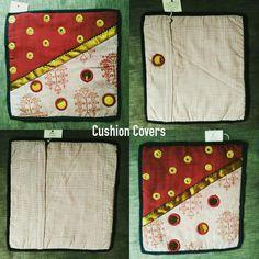 "TITLE : Red polka small. MEDIUM : Motif work, brocades, prints, sequences and piping on cloth. SIZE :12"" ×12"" #MeghnaCreations  #creations #2 #cushioncovers #red #polka  #small #motif #work #withdifferent #dyedfabrics #brocade #blackpiping  #check #batikprint #maroons #indiankhadi #interiors #accesorising #stylestore #furnishing #gift #mumbai #instaartcushion #pintrest"