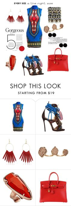 """Untitled #8"" by kingofkouture ❤ liked on Polyvore featuring Dsquared2, Kenneth Jay Lane, Kendra Scott, Hermès and powerlook"