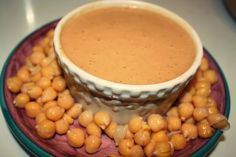 This Chickpea Gravy is the perfect meatless topping!! #healthy #skinnyms #recipes