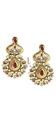 Buy Online from the link below http://www.kalkifashion.com/fusion-danglers.html