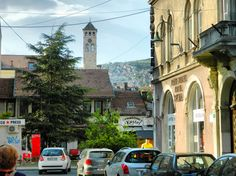 Clock Tower, Sarajevo, Bosnia and Herzegovina, Nikon Coolpix L310, 15.1mm, 1/250s, ISO 80, f/4.2, HDR-Art photography, 201607101703