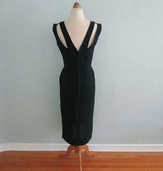 1960s Little Black Dress  Black Dress Black by TheVelvetPrincess, $65.00