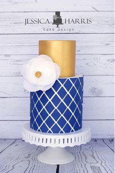 Diamond Lattice Cake Template - 3 Designs - Jessica Harris Cake Design