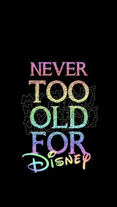 i'll always love disney no matter what. it's a part of me and my childhood