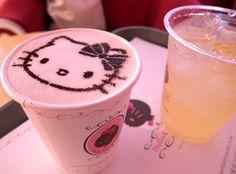 Hello Kitty & Cuppuccino!