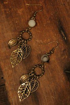 Earrings Handmade Home :: Jewelry :: Earrings :: Farm Girls Twin Sprigs Earrings Wire Jewelry, Boho Jewelry, Jewelry Crafts, Beaded Jewelry, Jewelry Design, Fashion Jewelry, Jewelry Box, Vintage Jewelry, Fantasy Jewelry