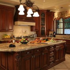 mediterranean kitchen by julian sahagun