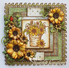 Heartfelt Creations | Classic Sunflower Bouquet