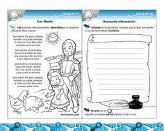 Actividades Escolares: actividades sobre San Martín