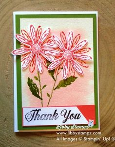 Global Design Project #089 Daisy Delight This post shows the card I made for this current colour challenge and is also a bundle in the 2017 - 2018 Catalogue