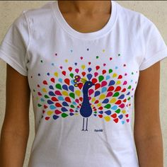 CHUMBAK | Dance of the Peacock - tee for women / Rs.500