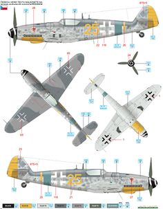 Bf 109G-14 EJG 2 Color Profile and Paint Guide