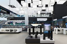 A project by Ippolito Fleitz Group – Identity Architects. Stuttgart Germany, Store Fixtures, Communication Design, Brand Store, Differentiation, Atrium, Store Design, Second Floor, Marketing