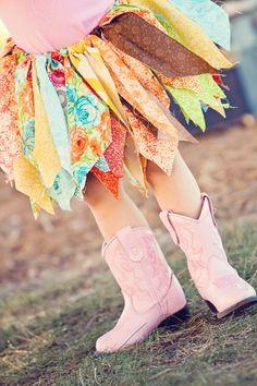 Items similar to Handmade Fabric Tutu - Custom made on Etsy Little Girl Tutu, Little Girl Outfits, Cowgirl Costume, Western Costumes, Fabric Tutu, Baby Tutu, Tutus For Girls, Newborn Photography Props, Girl Swag