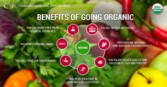 Several amazing benefits of going organic that everyone should know! #organicfood #healthyliving