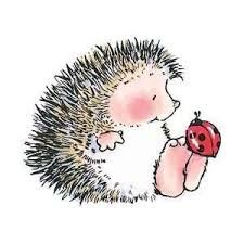 Image result for penny black stamps Hedgehog and lady bug
