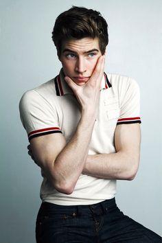 My dream man: Brown hair, blue eyes, perfect fashion style, gorgeous