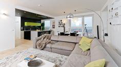 3 bedroom Apartment for sale, U Uranie, Praha Holešovice Apartments For Sale, Prague, Couch, Boutique, Bedroom, Furniture, Home Decor, Settee, Decoration Home