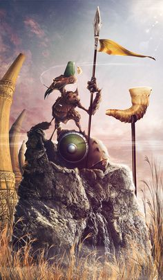 Edgar. The border guardian. by EL  MONO  AUTISTA , via Behance