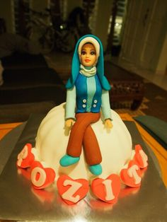 hijab doll cake more doll cakes dolls cakes