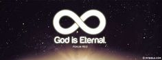 Psalm 90:2 NKJV - God Is Eternal - From Everlasting To Everlasting - Facebook Cover Photo