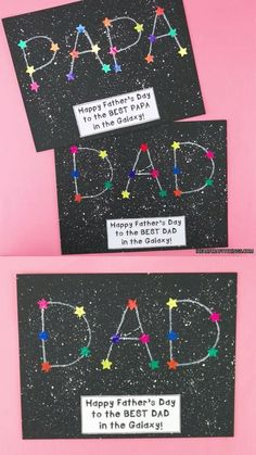 Diy Father's Day Crafts, Father's Day Diy, Diy Crafts For Kids, Holiday Crafts, Kids Diy, Dad Crafts, Gift Crafts, Craft Kids, Family Crafts