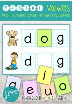Activity for ages 5 to 8. Vowel sounds (A, E, I, O and U) are often the most difficult for children to master. These hands-on puzzles and word cards give kids plenty of practice sounding out short CVC words and identifying the missing vowel sound. They're great to use as literacy centers, guided reading activities or word …
