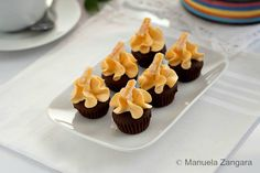 Cupcake Recipes : Chocolate and Orange Mini Cupcakes