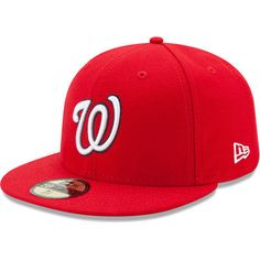 Washington Nationals New Era Game Authentic Collection On-Field 59FIFTY  Fitted Hat - Red 96c844bc8e40