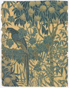 Wallpaper, Walter Crane, 1908
