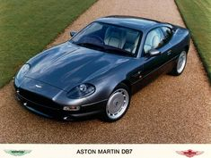 The Aston Martin DB7 was made from 1994 to 2004, initially as a 6 cylinder model that was cheaper then the V8 powered Virage - and what a 'looker'!
