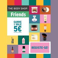 Amostras e Passatempos: The Body Shop Friends