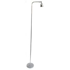 Liseuse floor lamp in nickel #interiordesign #lighting #floorlamp